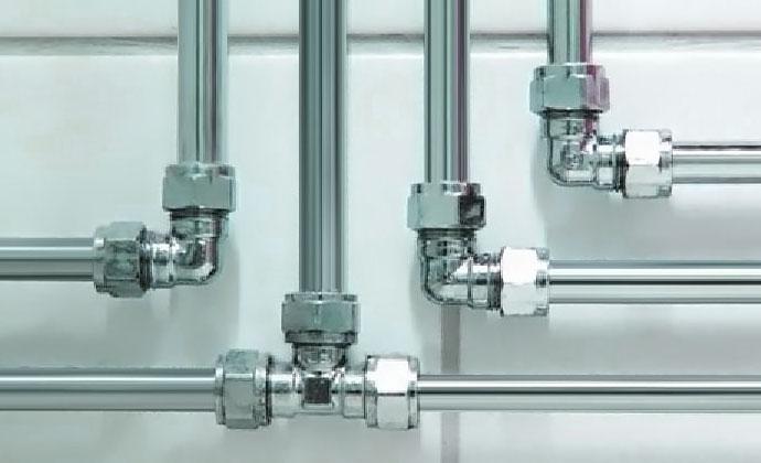 стальной водопровод