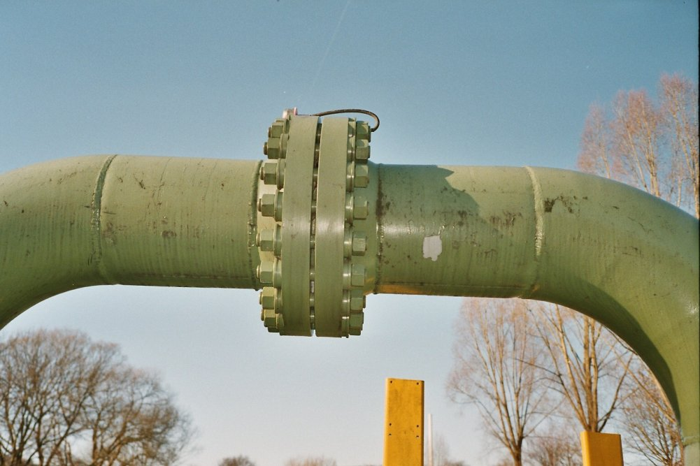 Фланцевое соединение трубопроводов
