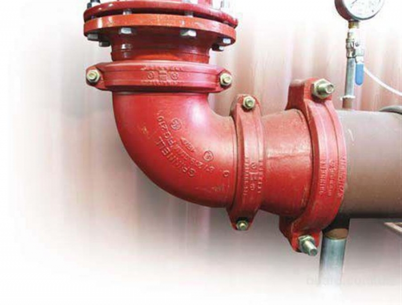 Муфтовое соединение трубопроводов