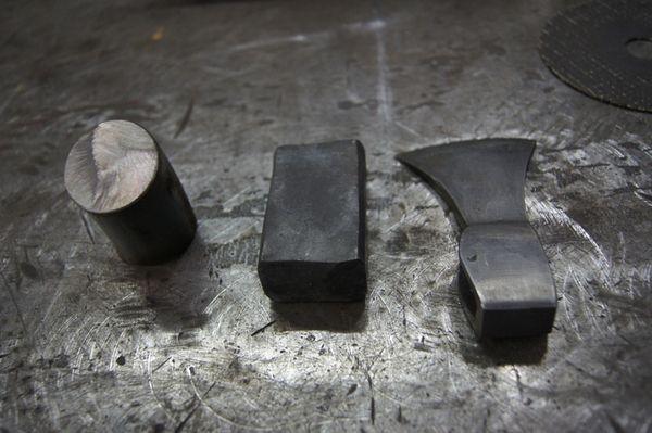 Производство кованых стальных заготовок